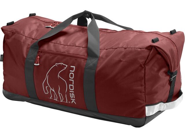 Nordisk Flakstad Travel Bag 85l Burnt Red